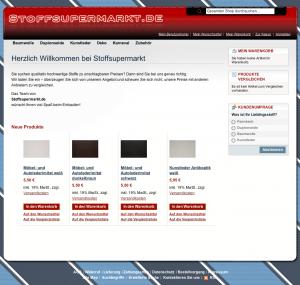 Stoffsupermarkt.de - Ihr Fachhandel für Stoffe
